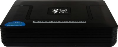 hawk vision 4 Channel Home Security Camera(2 TB)