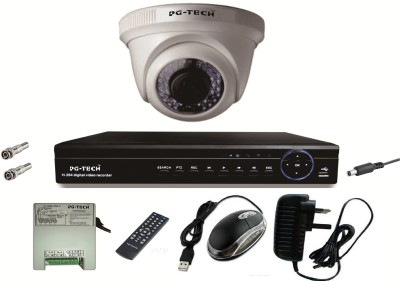 PG-TECH 4 Channel Home Security Camera