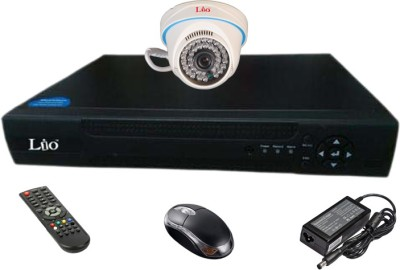 Lio Ahd Combo, 1mp Ahd Dome 36ir Camera 1pcs + Lio Ahd Dvr 4 Channel Home Security Camera