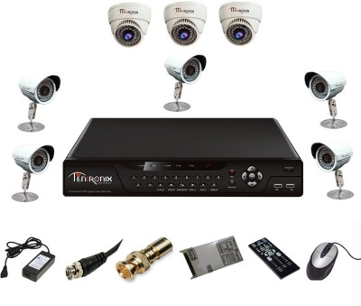 Tentronix-T-8AVR-8-D3B510-8-Channel-AHD-DVR-3-(1-MP-36-IR-Dome-)-5-(1-MP-36-IR-Bullet)-Cameras