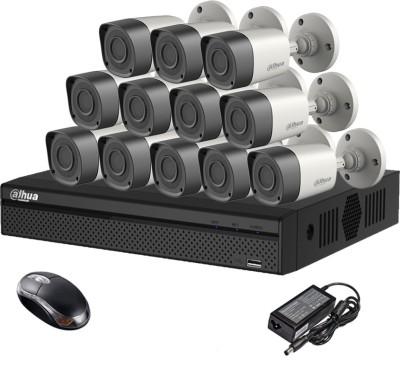 Dahua DH-HCVR4116HS-S2 16CH Dvr, 12(DH-HAC-HFW1000RP-0360B) Bullet Camera (With Mouse)