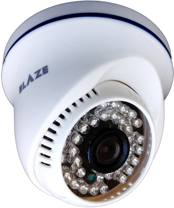Blaze Blaze 1.3 HD Night Vision Dome CCTV Camera 1 Channel Home Security Camera(N/A)