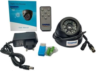 magnum elite Night Vision Dome (BNC) CCTV Camera with Inbuilt DVR & Memory Card Recording Slot 0 Channel Home Security Camera