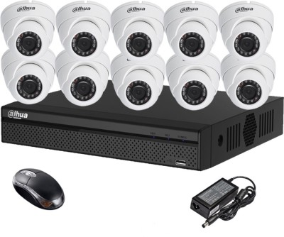 Dahua-DH-HCVR4116HS-S2-16CH-Dvr,-10(DH-HAC-HDW1000RP-0360B)-Dome-Camera-(With-Mouse)