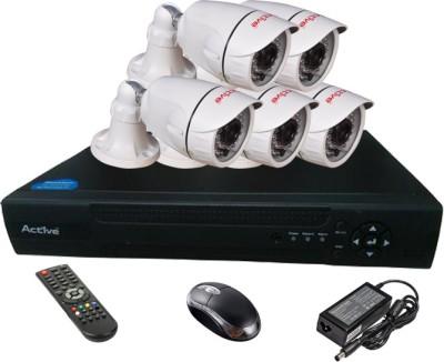 Active Feel Free Life AHD Combo, 5 AHD Camera + AHD DVR 8 Channel Home Security Camera