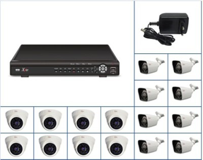Xper CCTV 16CAM FLEXIHD 16 Channel Home Security Camera