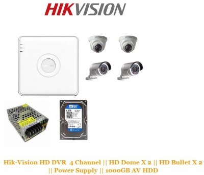 Hikvision 4 Channel Home Security Camera(1000)