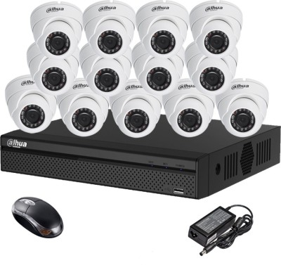 Dahua-DH-HCVR4116HS-S2-16CH-Dvr,-13(DH-HAC-HDW1000RP)-Dome-Cameras-(With-Mouse)