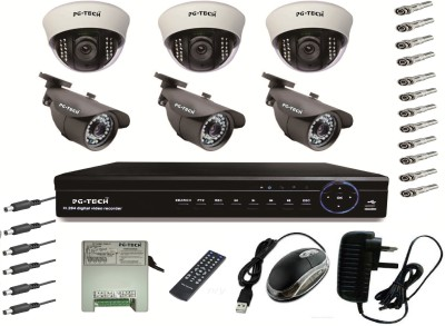 PG-TECH 8 Channel Home Security Camera