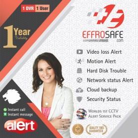 Effrosafe Single user CCTV Alert Pack 208