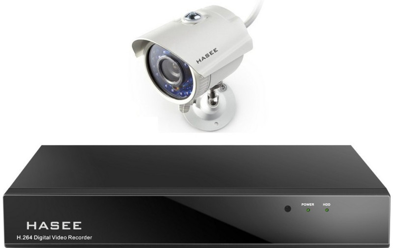 Hasee 04CH DVR 4 Channel Home Security Camera(2 TB)