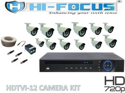 Hi-Focus HCVR 16 Channel Home Security Camera