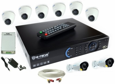 Hi-Focus DVR 8 Channel Home Security Camera