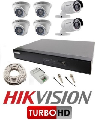 Hikvision Full HD Combo Kit 8 Channel Home Security Camera