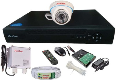 Active Feel Free Life AHD Full Combo, AHD Dome Camera 1Pcs +1TB HDD+ Active Cable + AHD DVR 4 Channel Home Security Camera