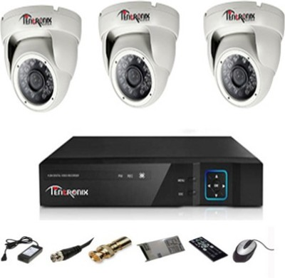 Tentronix-T-4ACH-3D20A-4-Channel-Dvr,-3(2-MP)-Dome-CCTV-Cameras