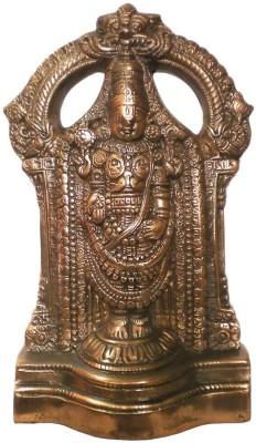 IndiaDeals4u Small Solid Balaji(1Nos) Aluminium Home Temple