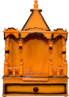 Quality Creations Wooden Home Temple(Height: 60 cm)