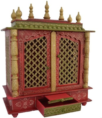 D Dass Vintage Wooden Home Temple