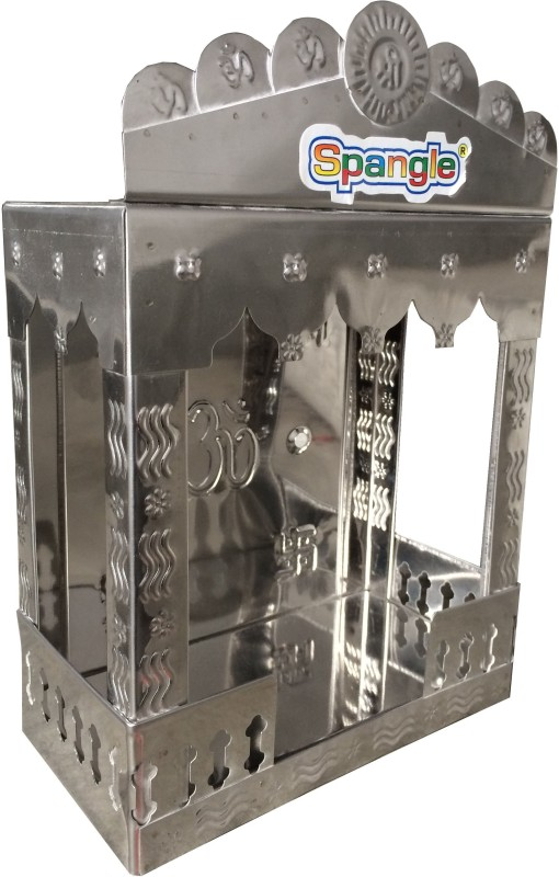 Spangle Stainless Steel Home Temple(Height: 30 cm)