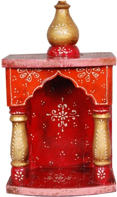 JaipurCrafts Decorative Rajasthani Wooden Home Temple