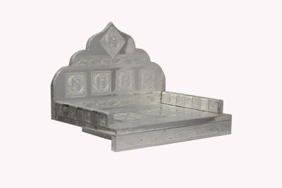 Pavitra Mandir 15 x 10 Aluminium Singhasan Wooden, Aluminium Home Temple