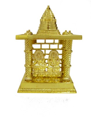 Heaven Decor Laxmi Ganesh Big Gold Plated Home Temple