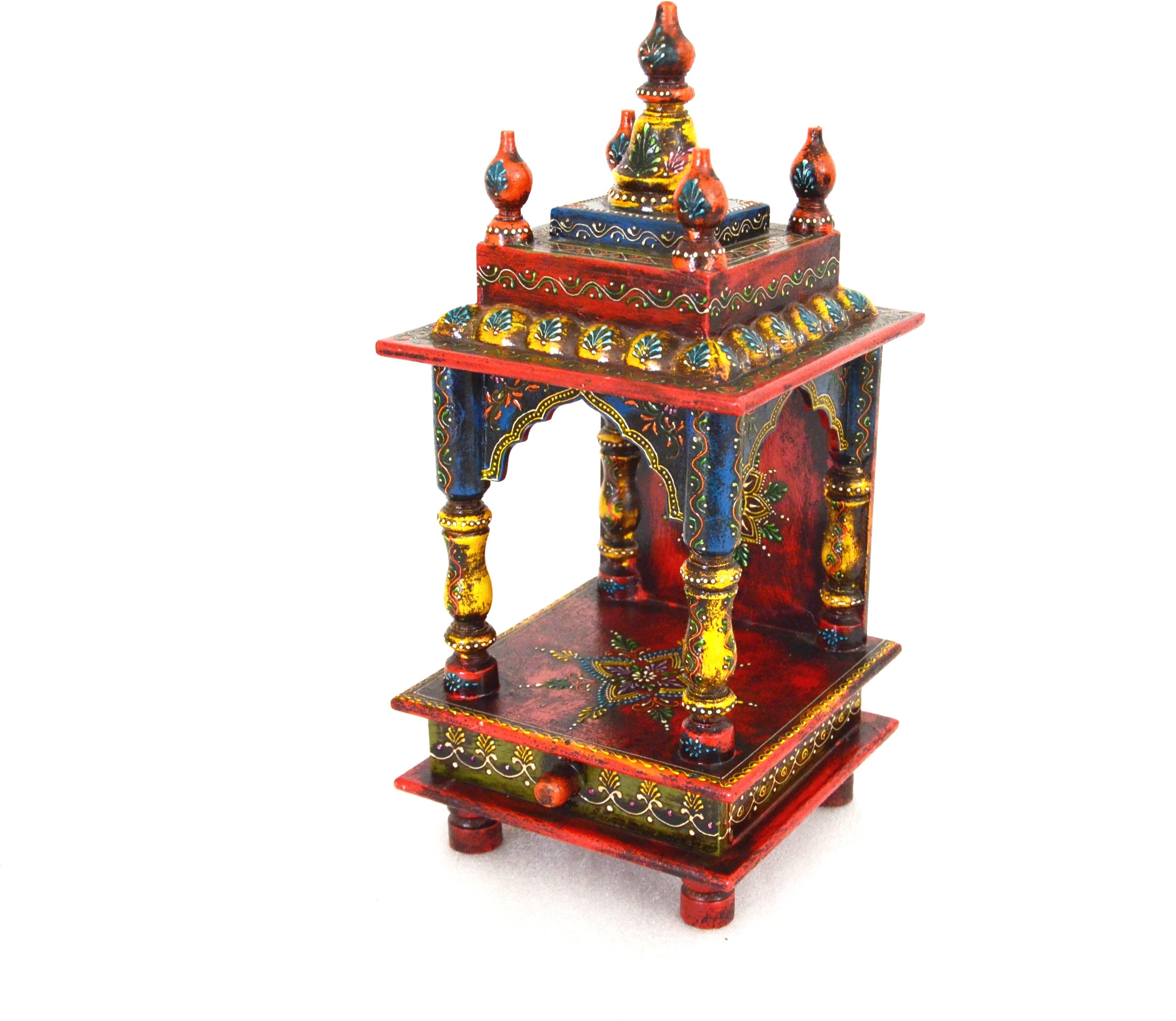 View Traje Wooden Home Temple(Height: 46 cm) Furniture (Traje)