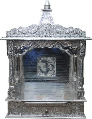 Pavitra Mandir 15 x 9 Open WG Full Aluminium Carving Wooden, Aluminium Home Temple
