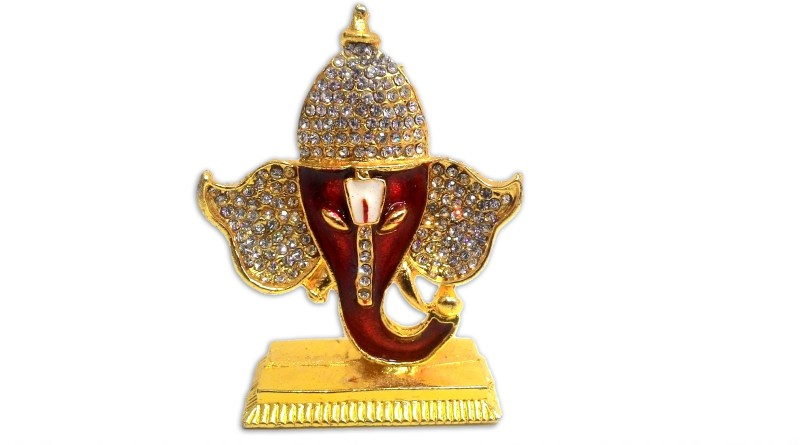 Marvelousgifts Brass Home Temple(Height: 7.62 cm)
