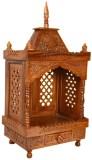 Simran Handicrafts Wooden Home Temple (H...
