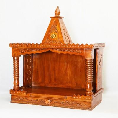 Simran Handicrafts Wooden Home Temple