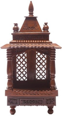 Shilpi Wooden Home Temple(Height: 20.32 cm)