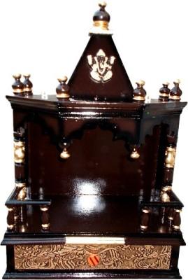 Vishwakarma Furniture Wooden Home Temple(Height: 72 cm)