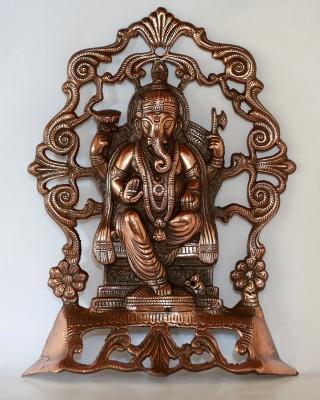 IndiaDeals4u Jali Ganesh(1Nos) Aluminium Home Temple