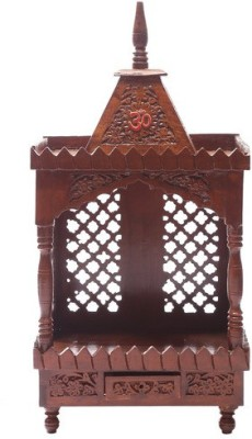 Shilpi HandCrafted Wooden Home Temple(Height: 58.42 cm)
