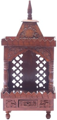 Shilpi Wooden Home Temple(Height: 53.24 cm)