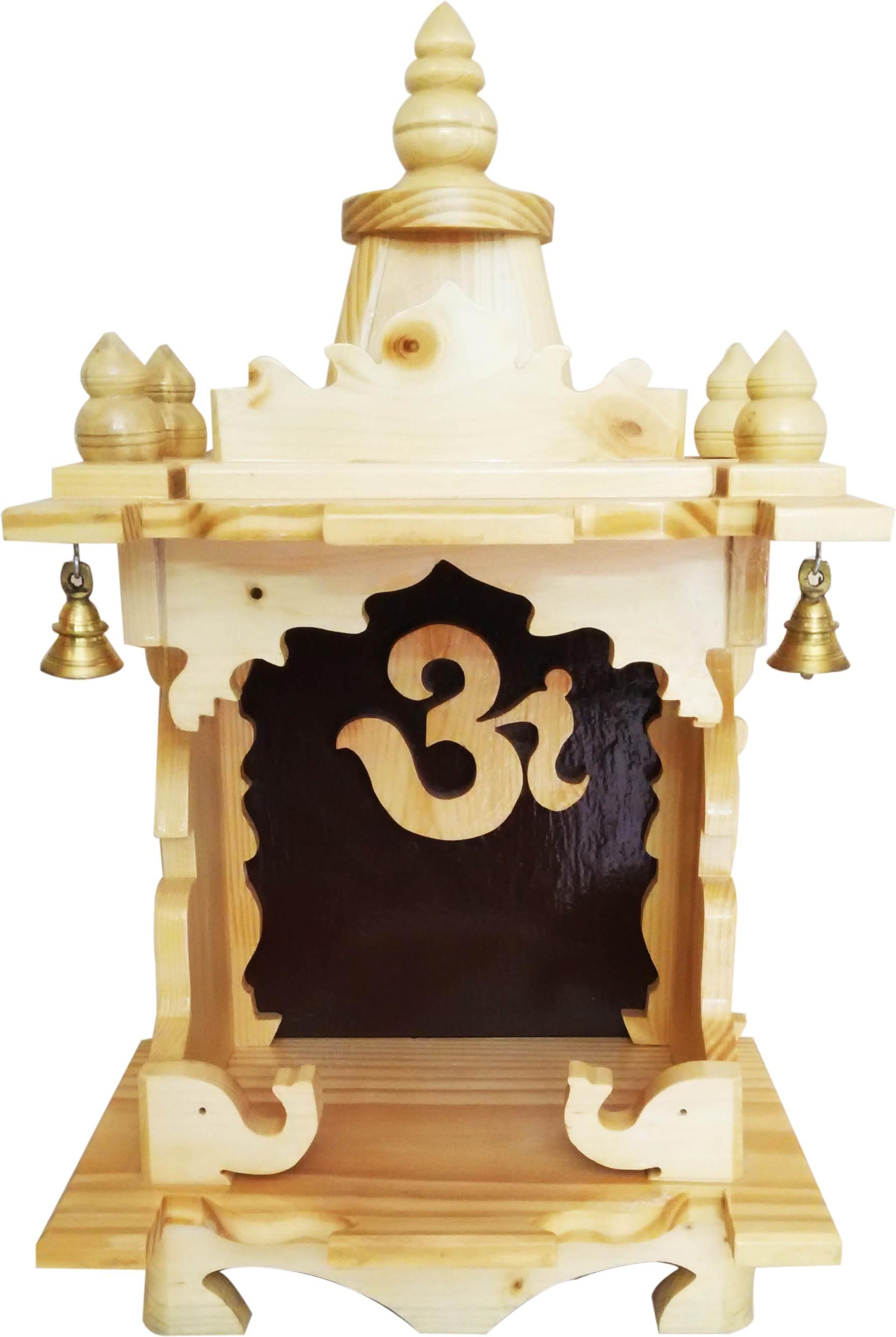 Swarnadaru Pooja Mandir Wooden Home Temple