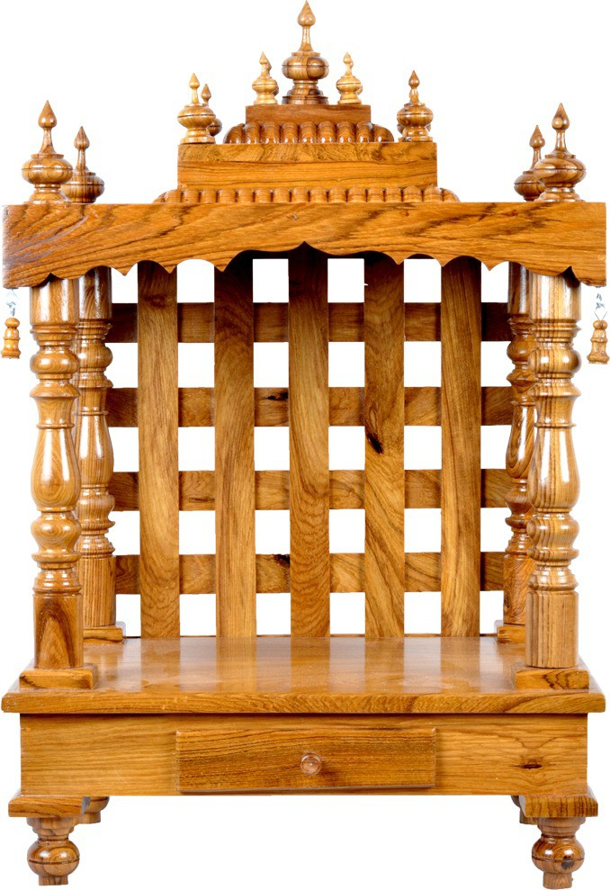 View Designer Lanes Wooden Home Temple(Height: 59 cm) Furniture (Designer Lanes)