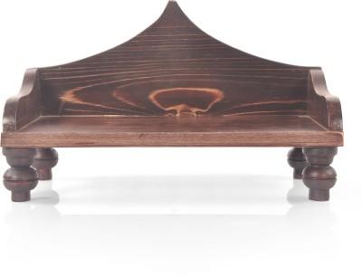 Designer Lanes Premium Wooden Home Temple(Height: 19.1 cm)