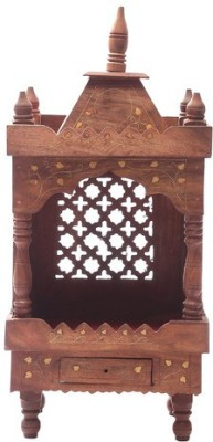 Shilpi HandCrafted Wooden Home Temple(Height: 53.24 cm)