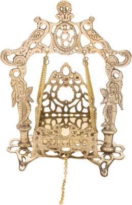 Holy Glory Small Folding Krishan Jhoola No.2 Brass Home Temple