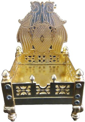 Excellent4U Small Singhasan Brass Home Temple