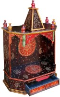 Decoriee DR-ONT08 Wooden Home Temple(Height: 75 cm)