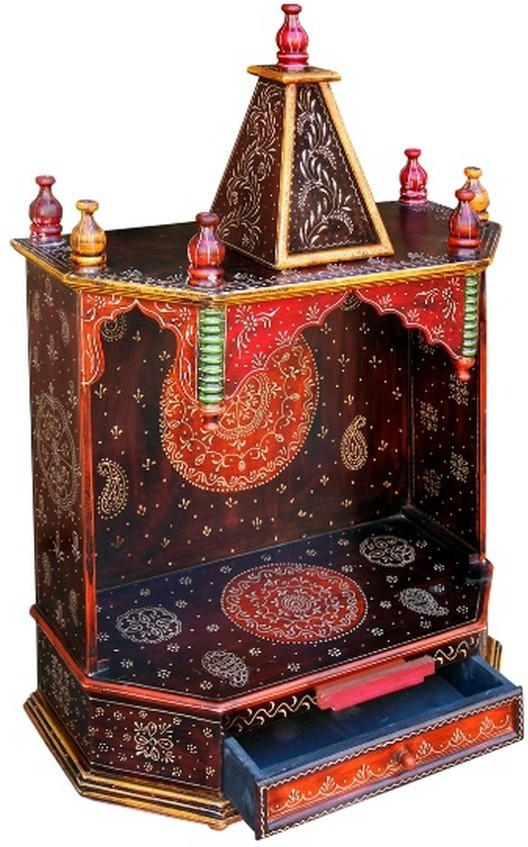 View Decoriee DR-ONT08 Wooden Home Temple(Height: 75 cm) Furniture (Decoriee)