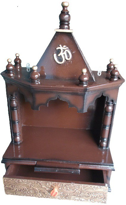 View Vishwakarma Furniture Wooden Home Temple(Height: 72 cm) Furniture (Vishwakarma Furniture)