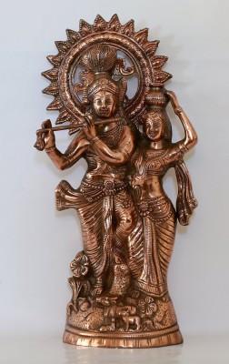 IndiaDeals4u Shaft Radha Krishna(1Nos) Aluminium Home Temple