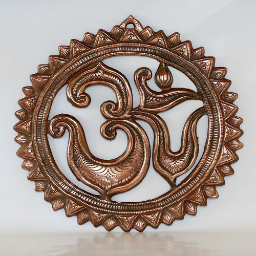 IndiaDeals4u Om Ring(1Nos) Aluminium Home Temple