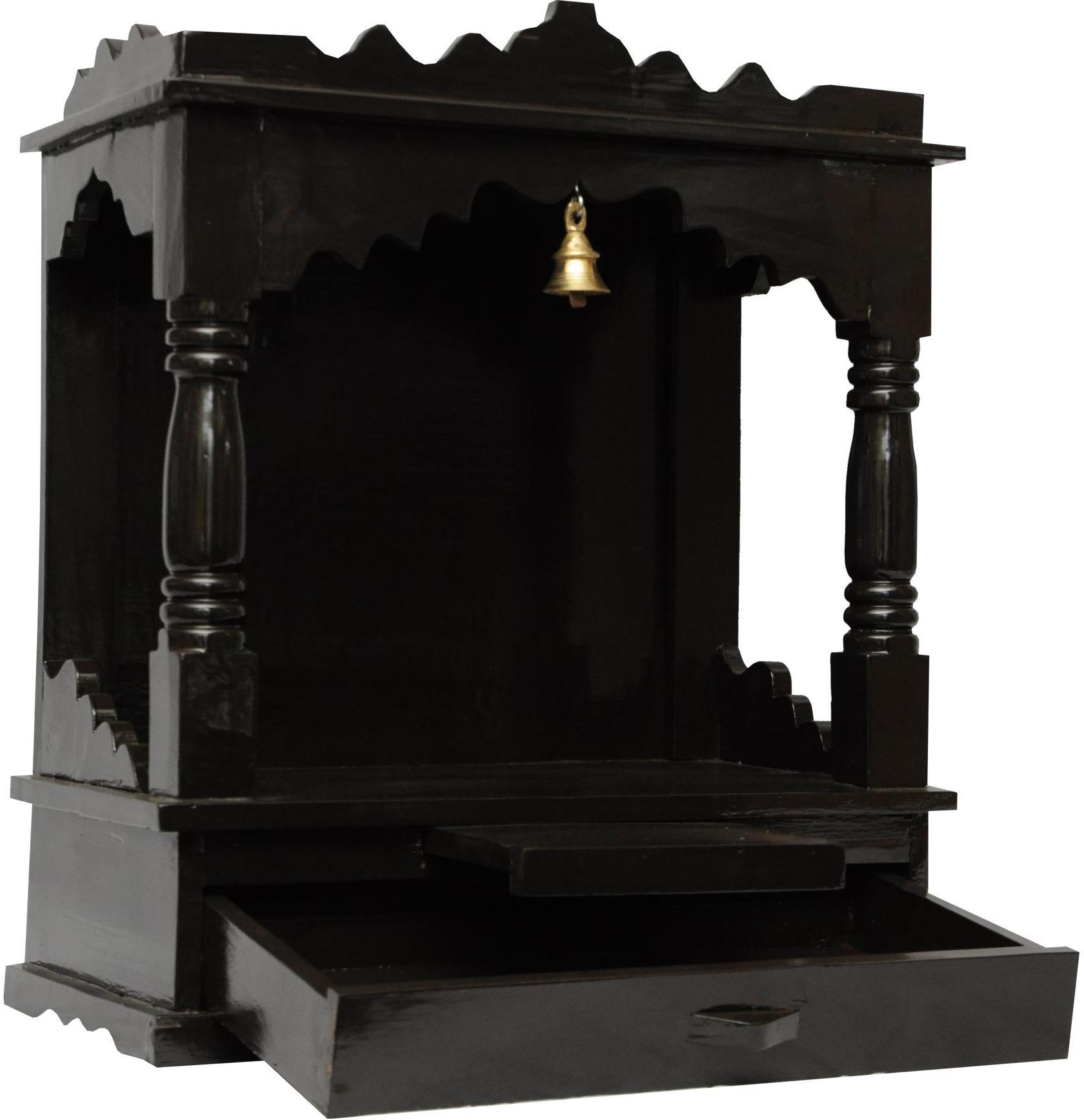 View Pavitra Mandir 15 X 7 Saagwan Melament Wooden Home Temple(Height: 19 cm) Furniture (Pavitra Mandir)