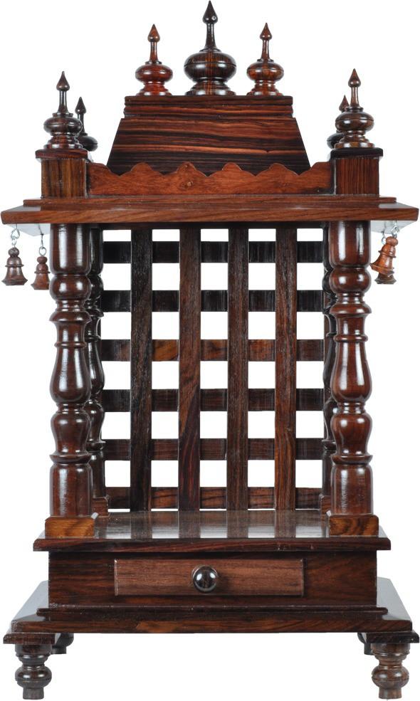 View Mantapas Wooden Home Temple(Height: 58.42 cm) Furniture (Mantapas)